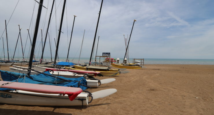 Photo of Sailboats at Glencoe Beach